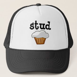 Stud Muffin, Cute Funny Baked Good Trucker Hat