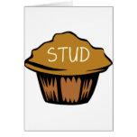 Stud Muffin Cute Greeting Card