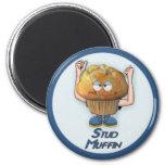 Stud Muffin Humor Fridge Magnets