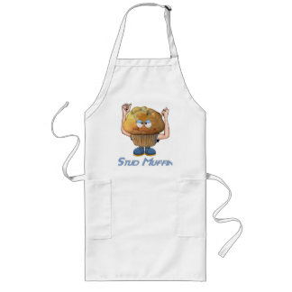 Stud Muffin Humor Long Apron