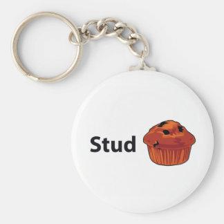 Stud Muffin Keychain