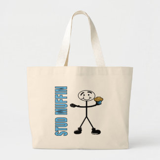 Stud Muffin Large Tote Bag