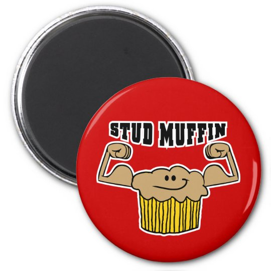 Stud Muffin Magnet