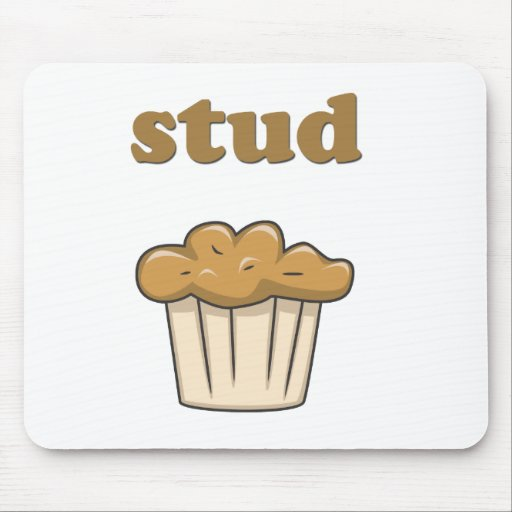 stud muffin mouse pad