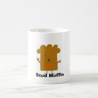 Stud Muffin Classic White Coffee Mug