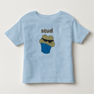 Stud Muffin Personalized Toddler T-Shirt