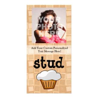 Stud Muffin Photo Card
