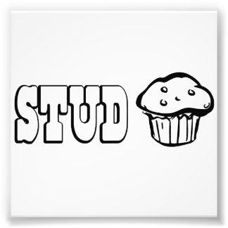 Stud Muffin Photo Print