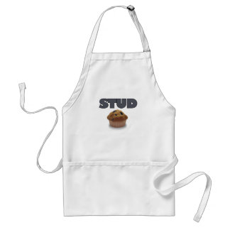 STUD MUFFIN.png Adult Apron