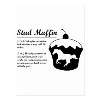 Stud Muffin Post Card