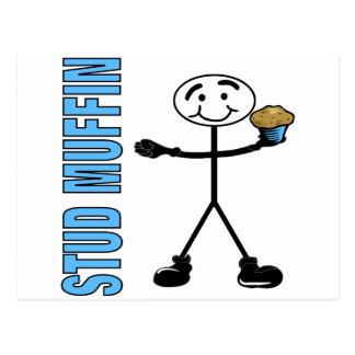 Stud Muffin Postcard
