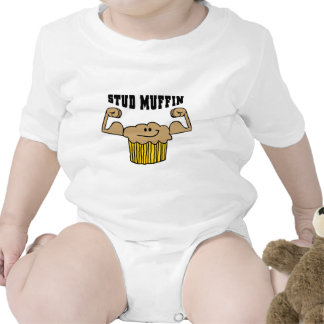 Stud Muffin Romper