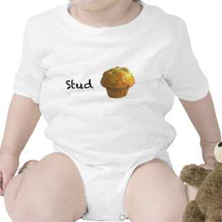 Stud Muffin Baby Bodysuits