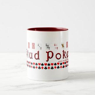 Stud Poker Mug (Large)
