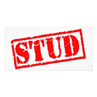 Stud Stamp Card