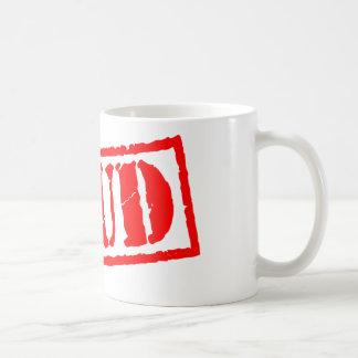 Stud Stamp Classic White Coffee Mug