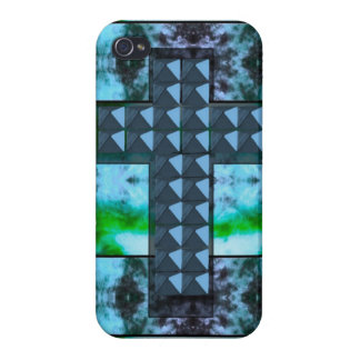 Studded Cross iPhone 4 Cover