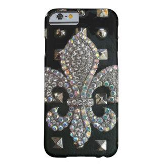 Studded fleur de lis case barely there iPhone 6 case