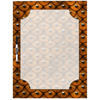 Studded Leather 1 Dry-Erase Board (4) Panel Option