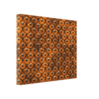 Studded Leather 1 Wrapped Canvas