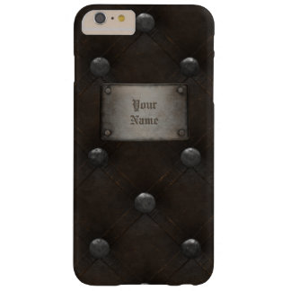 Studded Leather Armor With Plaque Barely There iPhone 6 Plus Case