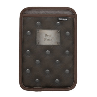 Studded Leather Armor With Plaque Sleeve For iPad Mini