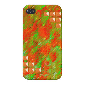 Studded Paint iPhone 4/4S Covers