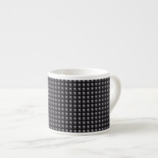Studded Steel Texture Espresso Cup