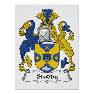 Studdy Family Crest Posters