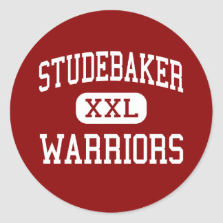 Studebaker - Warriors - Middle - Huber Heights Classic Round Sticker