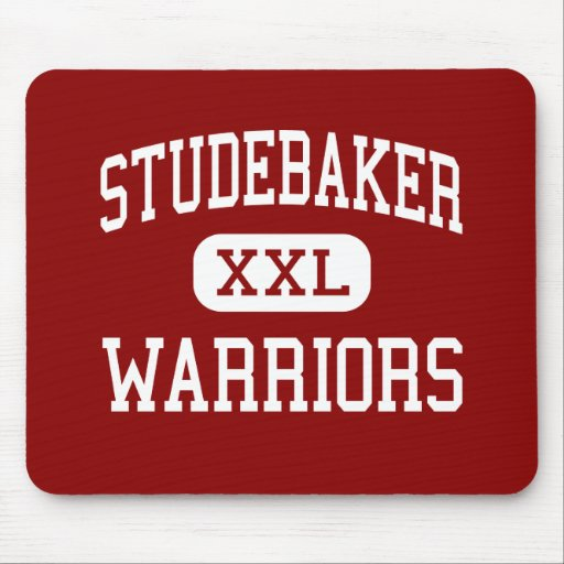 Studebaker - Warriors - Middle - Huber Heights Mouse Mats