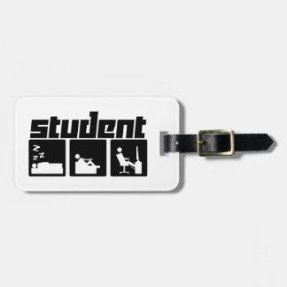 Student 3 bag tag