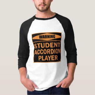 Student Accordion Player T-Shirt