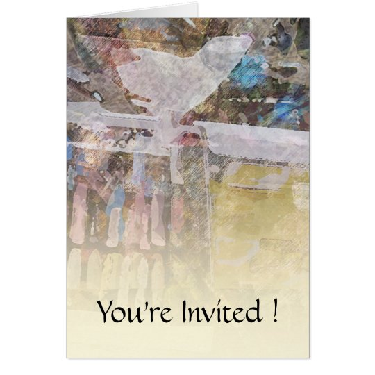 Student Art Exhibit Card