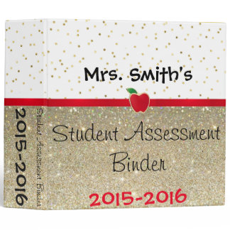 Student Assessment Binder- Customize it! Binder