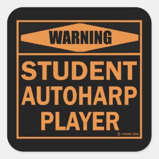 Student Autoharp Player! Square Sticker