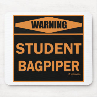Student Bagpiper Mousepads
