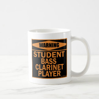 Student Bass Clarinet Player Coffee Mug