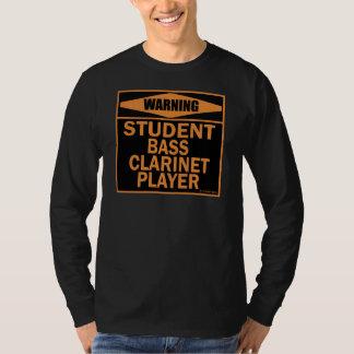 Student Bass Clarinet Player T-Shirt