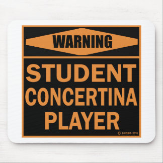 Student Concertina Player Mouse Pad
