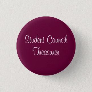 Student Council Treasurer Pinback Button