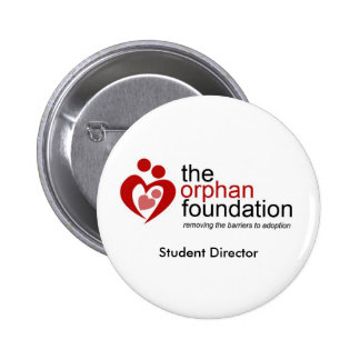 Student Director Badge Pinback Button
