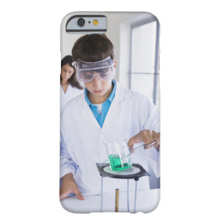 Student doing science experiment 2 barely there iPhone 6 case