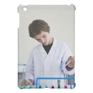Student doing science experiment 4 iPad mini cases