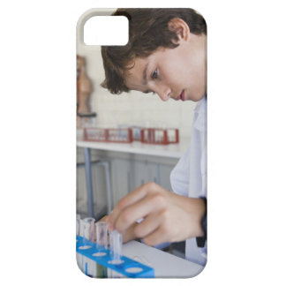 Student doing science experiment iPhone SE/5/5s case