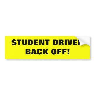 Student Driver Bumper Sticker bumpersticker