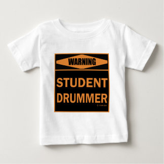 Student Drummer Baby T-Shirt