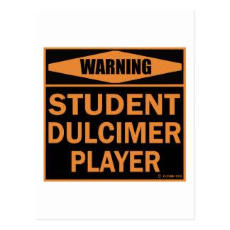 Student Dulcimer Player Postcard