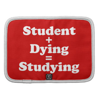 Student + Dying = Studying Planners