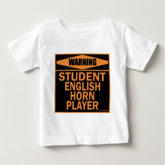 Student English Horn Player Infant T-shirt